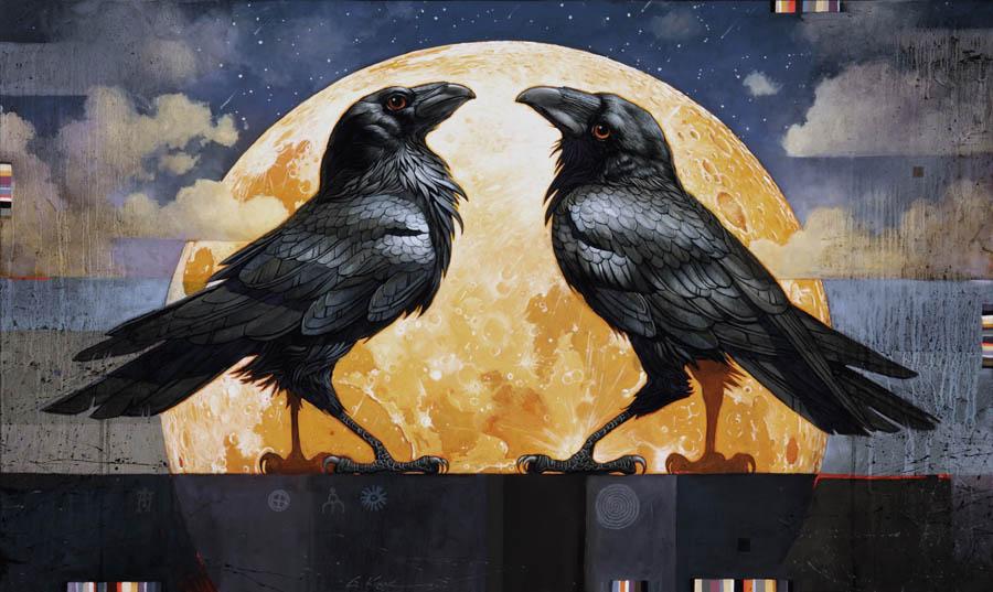 Craig Kosak Paintings The Fourth Agreement
